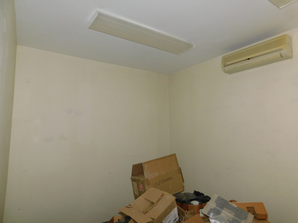 Storage room in the office
