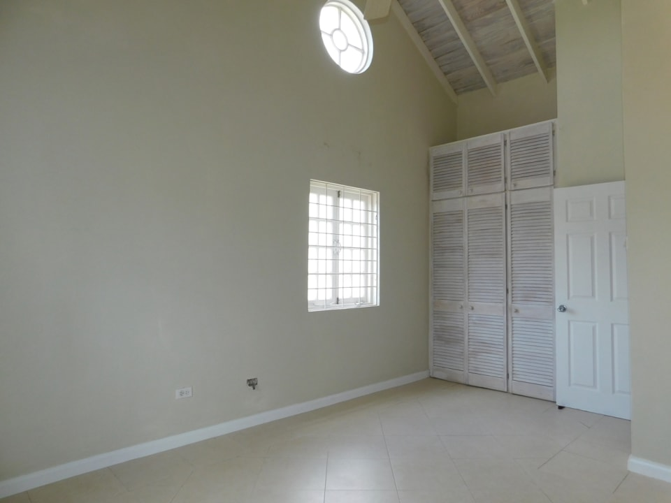 Second bedroom with ample closet space