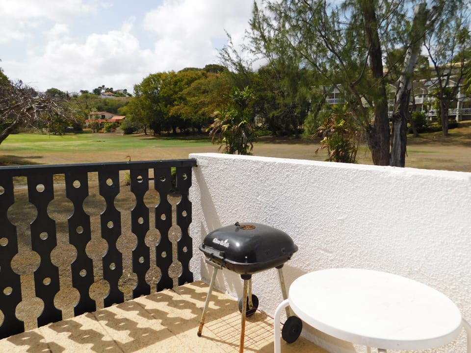 Patio ideal for BBQ meals