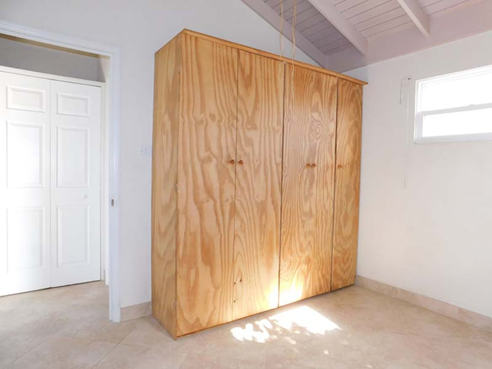 Main Bedroom with large cupboard