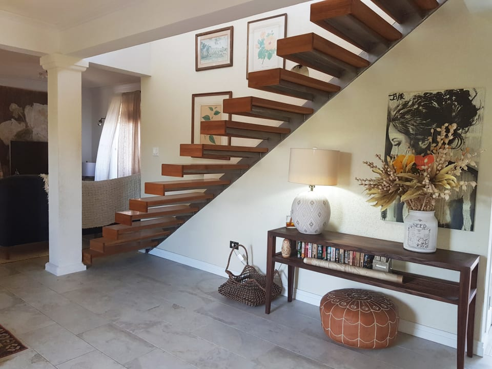 Floating staircase upstairs