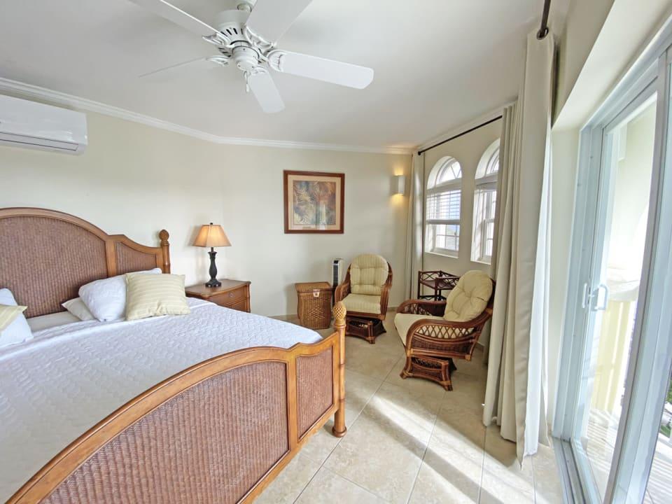 Main Bedroom with Ocean Views