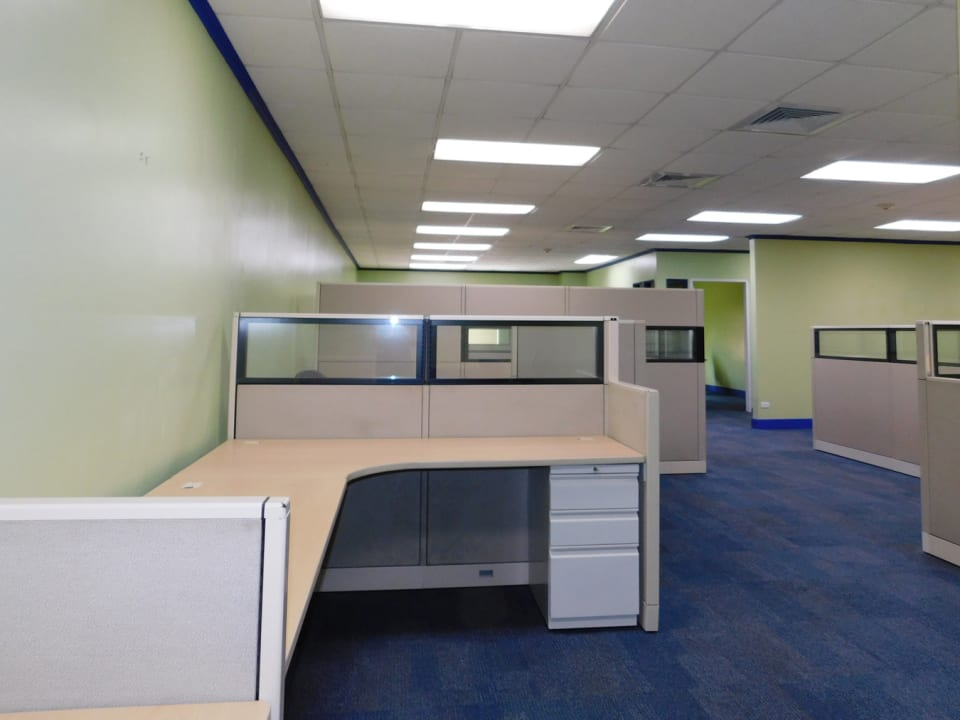 Spaces can be open plan or reconfigured