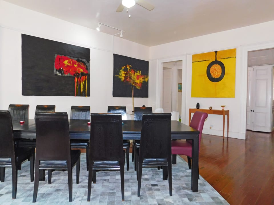 Large Dining room (STAGED FOR PHOTOS ONLY - FURNITURE NOT INCLUDED)