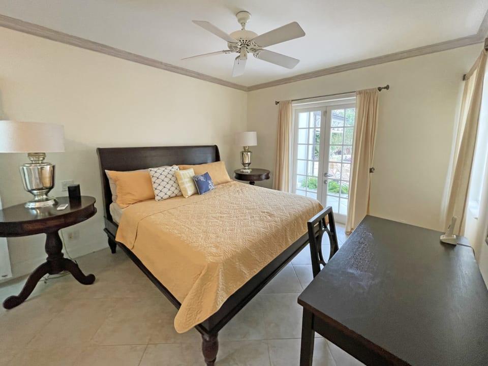 Spacious ground floor suite