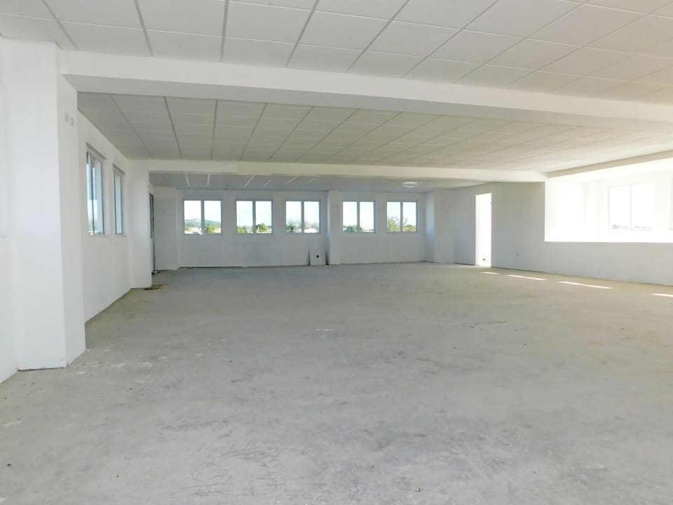 Large upstairs area by the roof deck