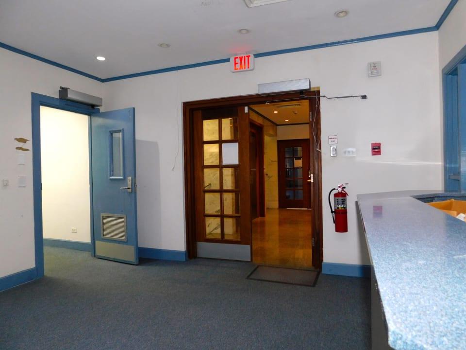Main Office Door Entry