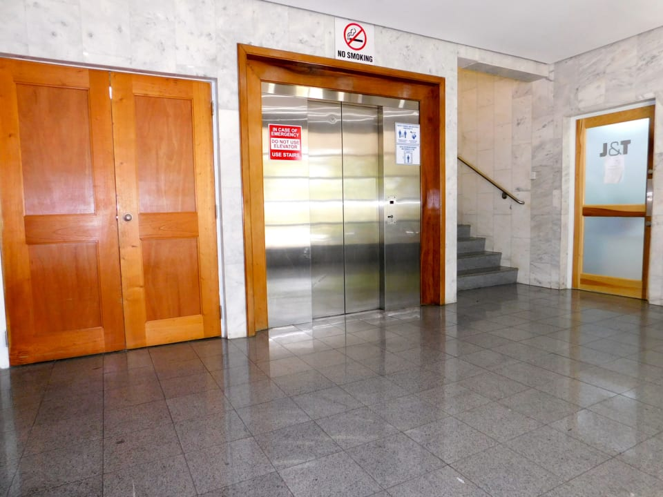 Foyer with security