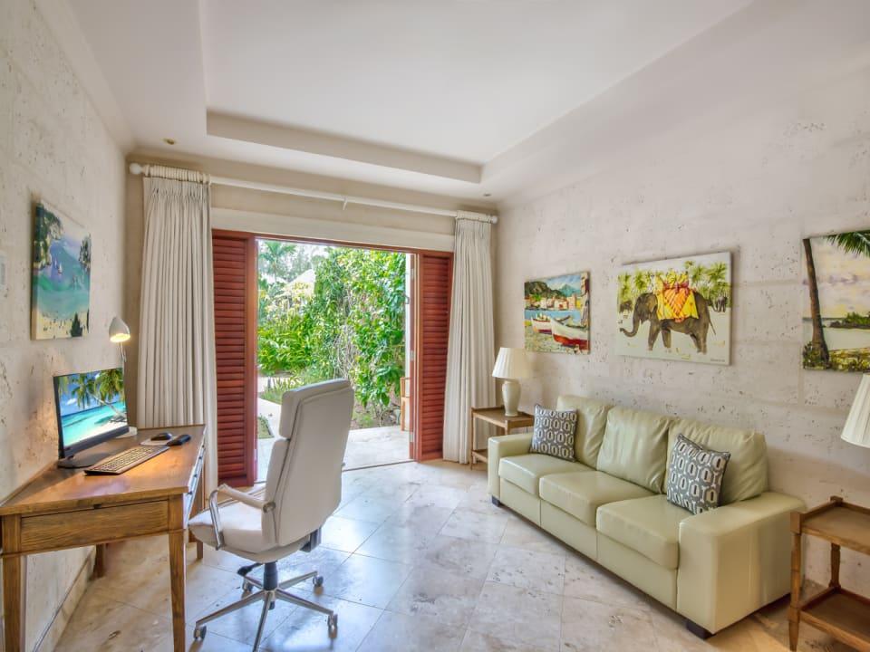 3rd guest bedroom / study with en suite