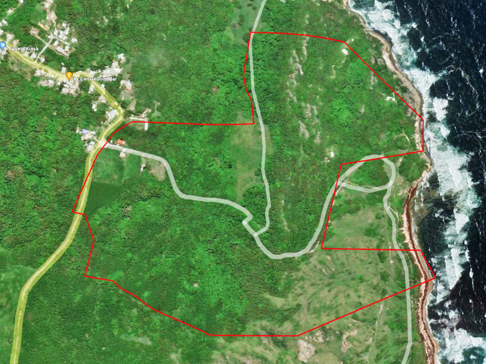 Outline of the land