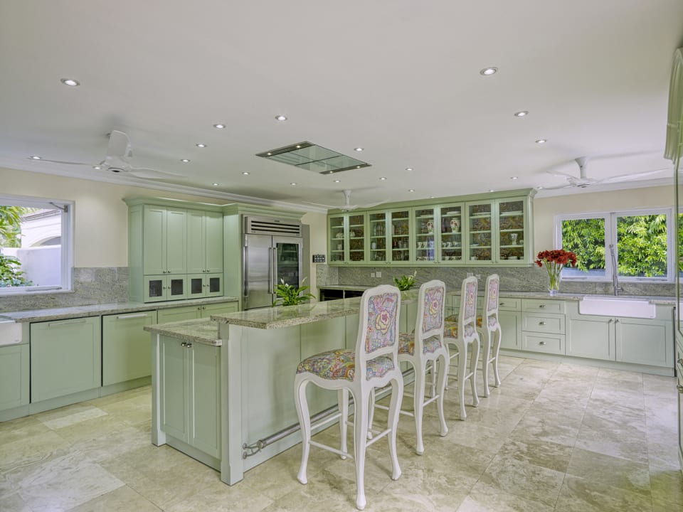 Fully equipped, architect-designed, kitchen