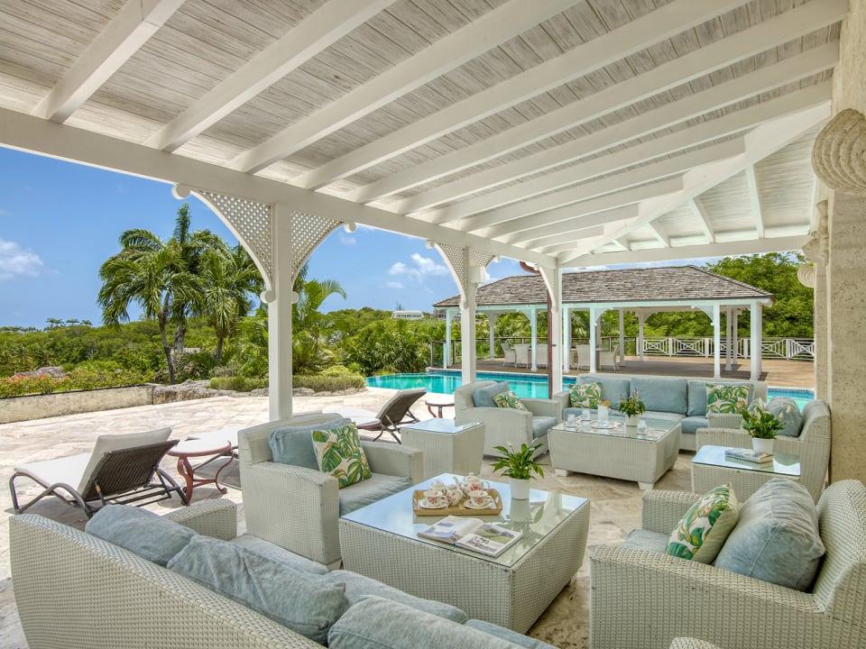 Spacious terrace
