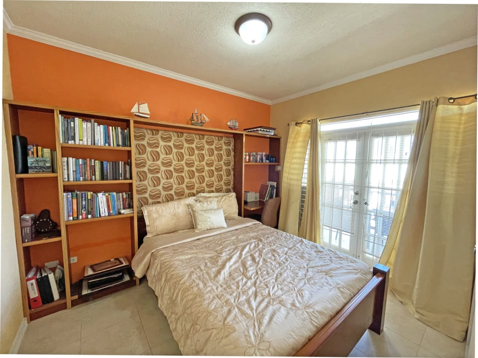 Bedroom Three with private balcony