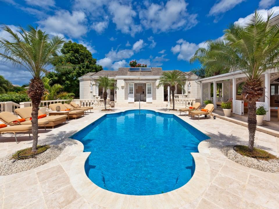 3 bedroom poolside cottage