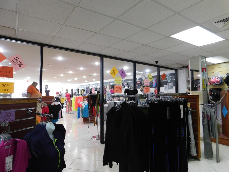Open retail section on First Floor