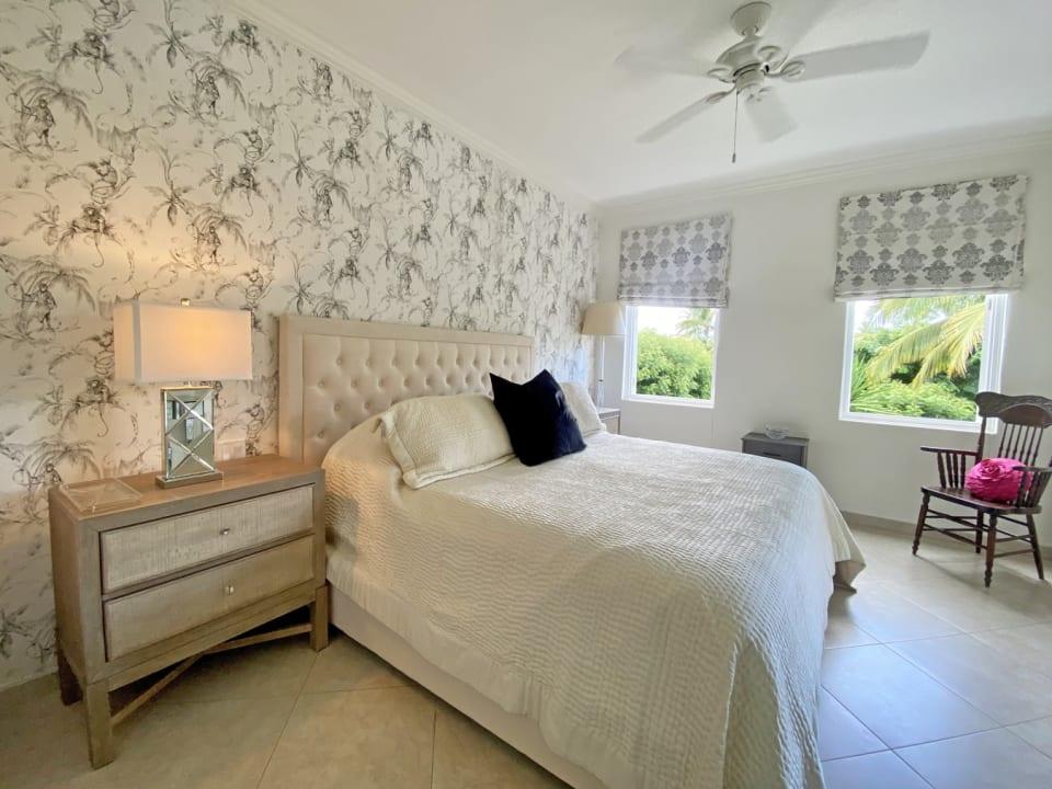 Main bedroom with walk in closet and en suite bathroom