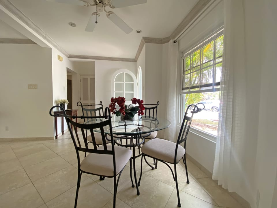 Dining Room with Excellent Light