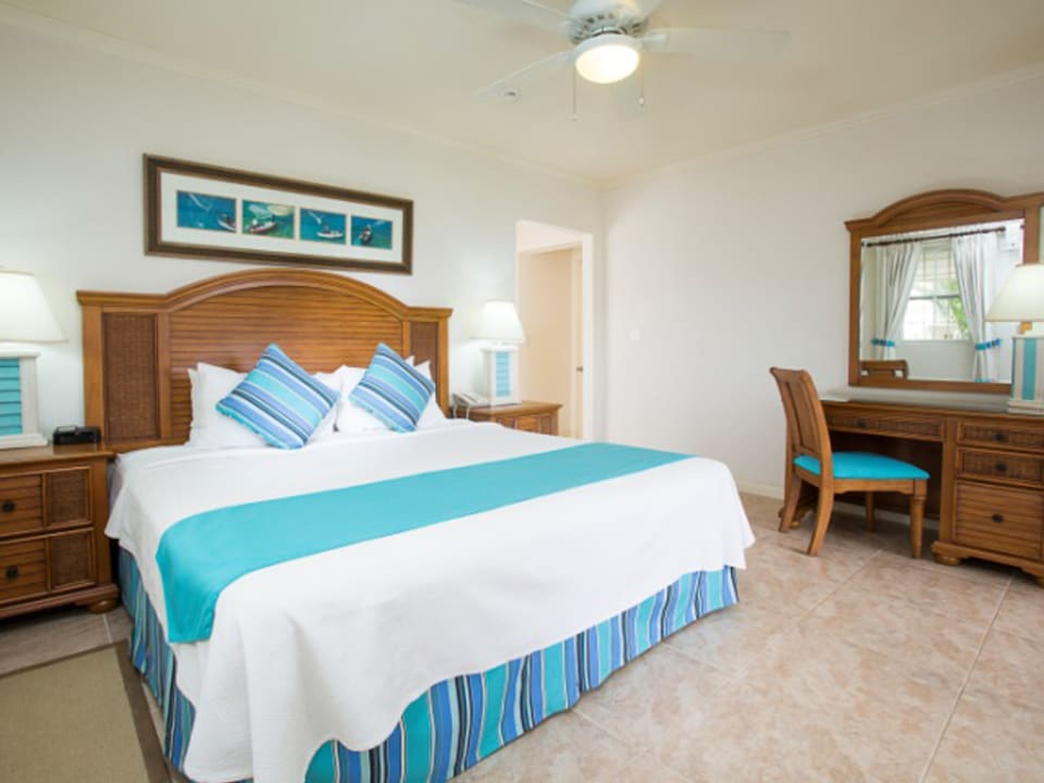 Beach View classic master bedroom