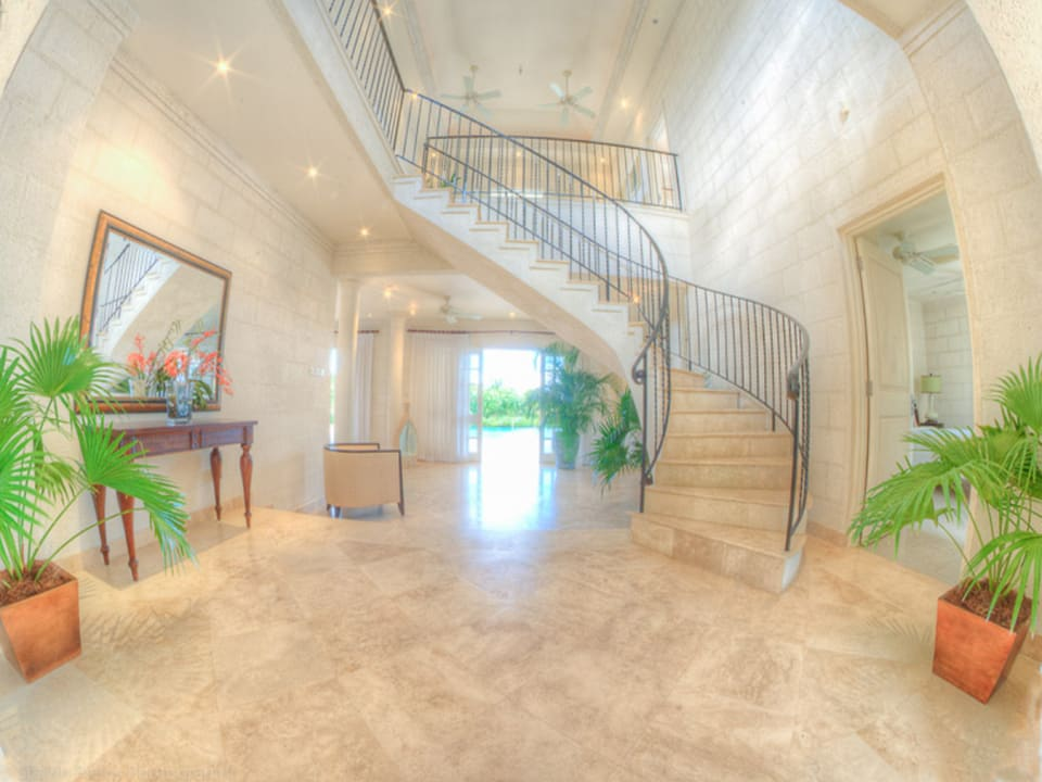Foyer to staircase