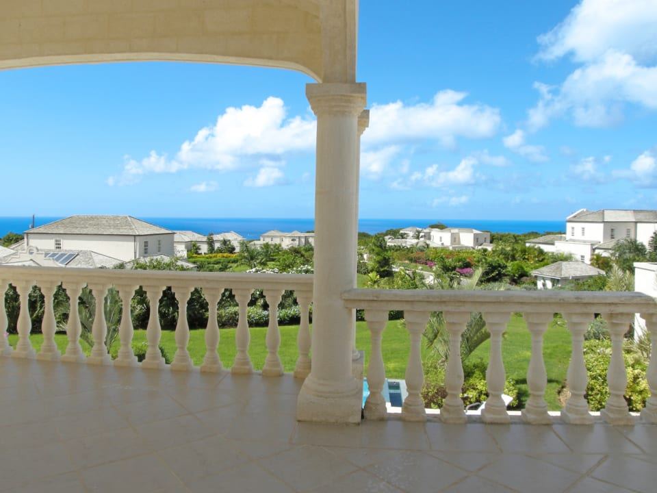 Patio with views