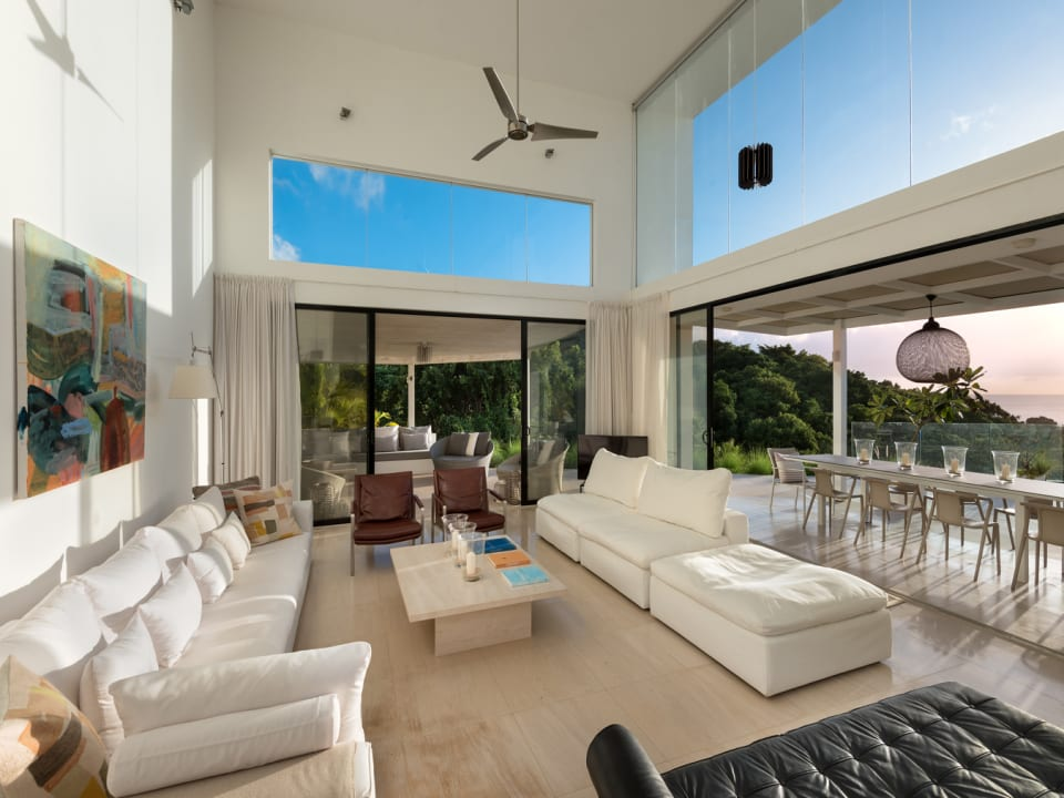 Open Plan Living opening onto the Patios