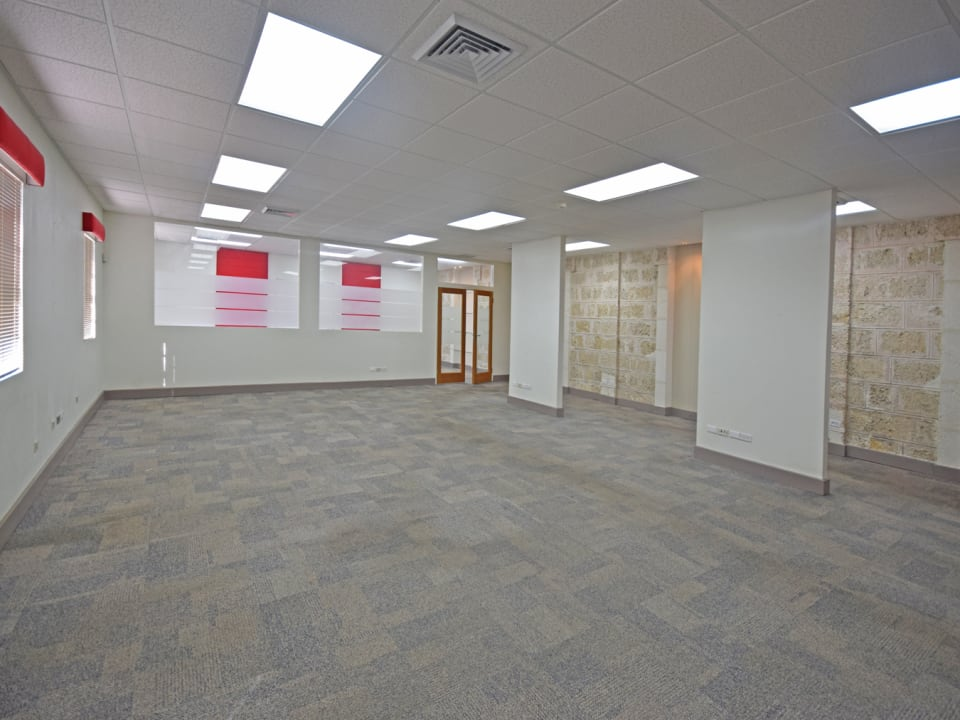 Open space with a Board room to the back