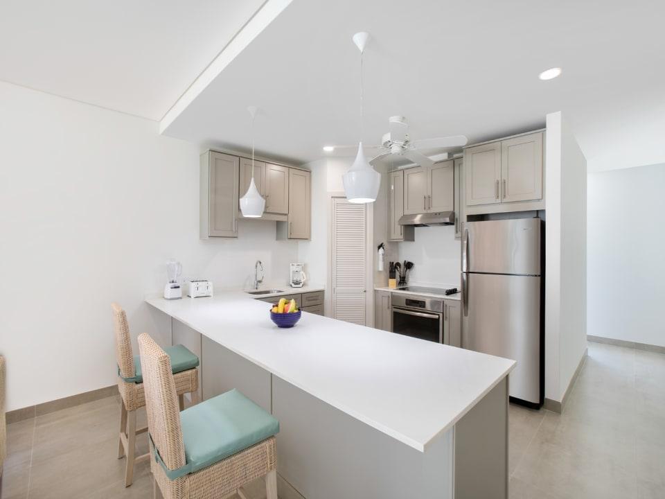 Beach View Villa kitchen