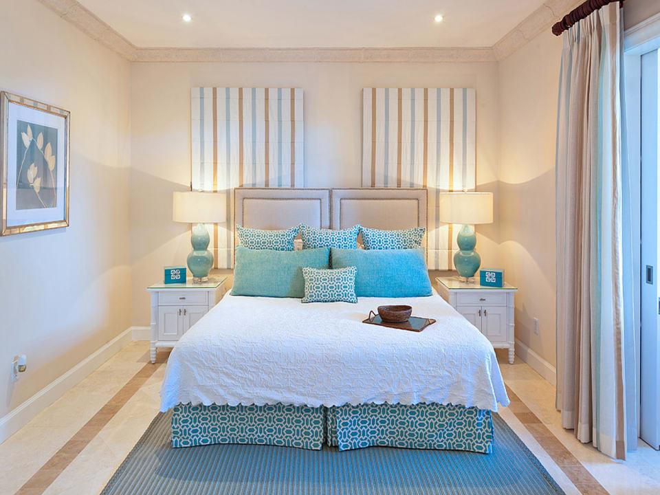 Bedroom 4 opens to terrace