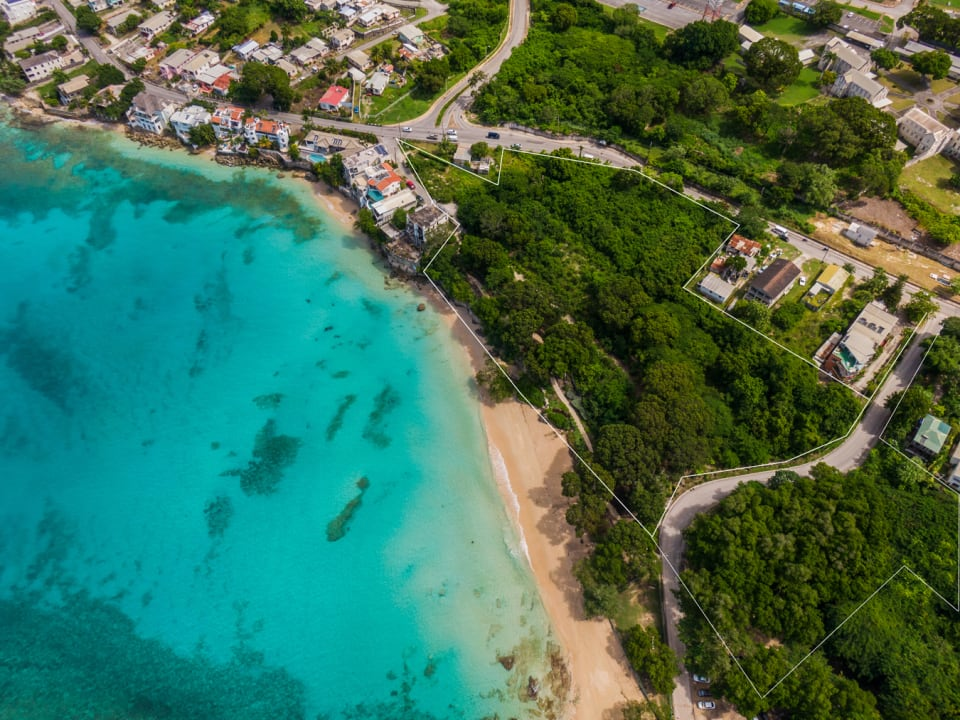The 4.5 acre beachfront site that is Clearwater Bay