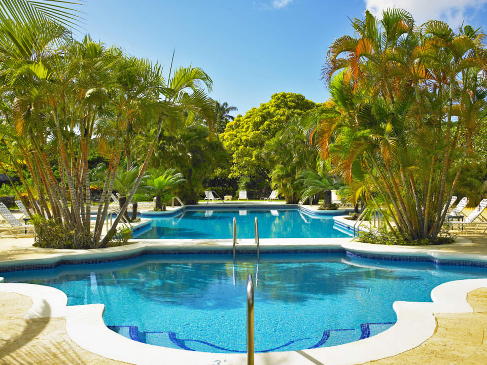 Sanctuary swimming pool at Royal Westmoreland