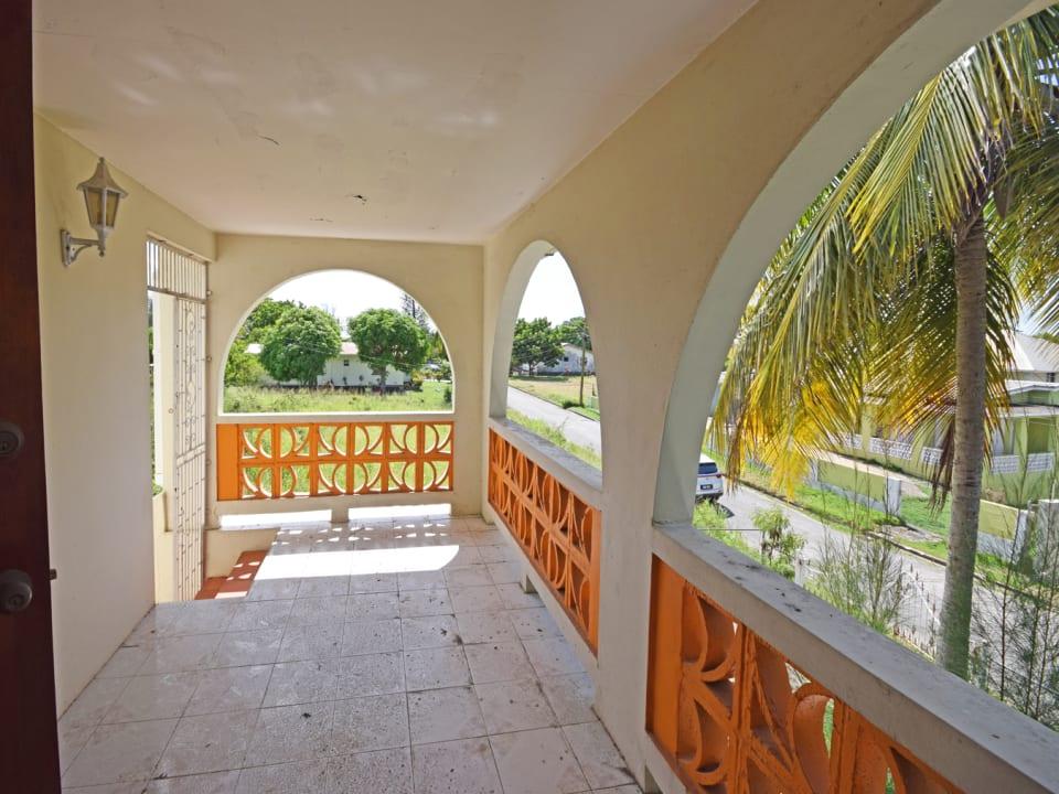 Upper apartment Patio