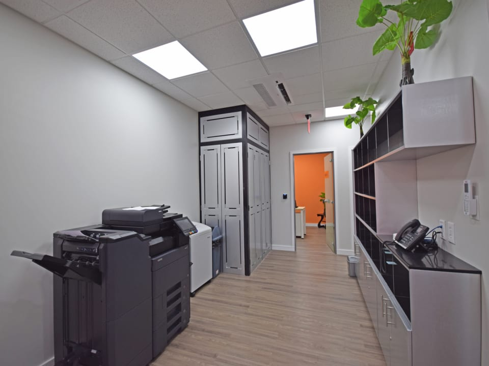 Fully equipped office