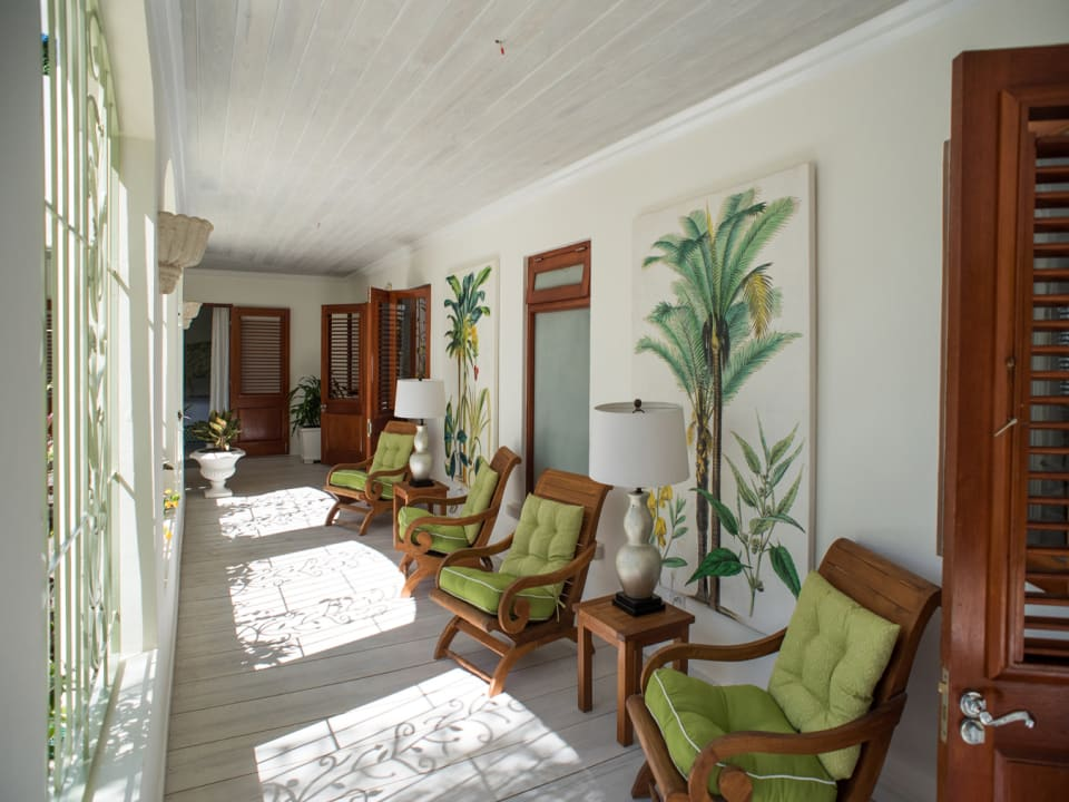 Enclosed Patio off The Bedrooms