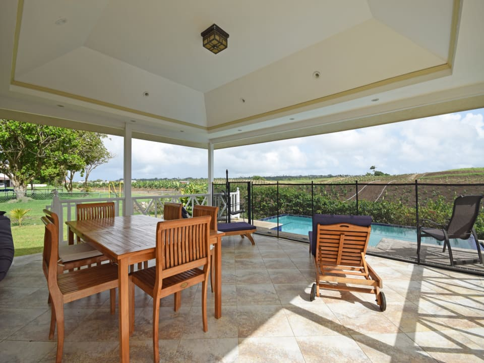 Breezy Patio & Pool with Country Views