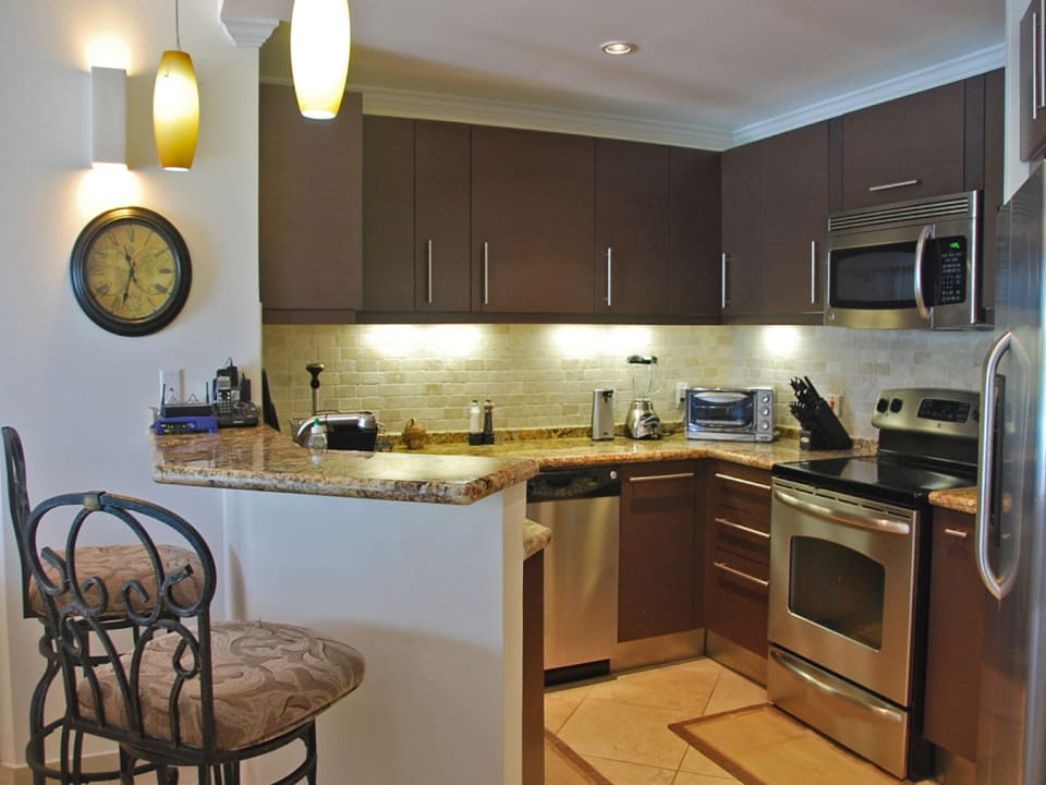Italian kitchen with modern appliances