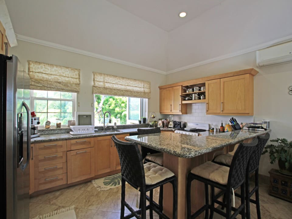Modern kitchen with granite surfaces