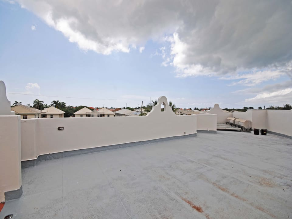 Roof top space with great views