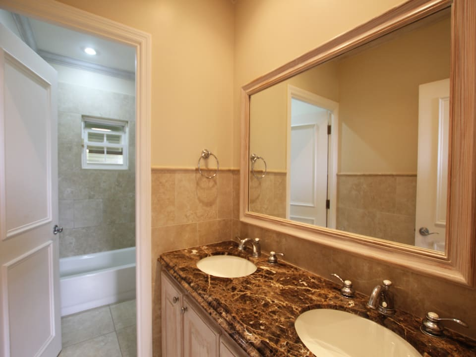 Guest Bathroom with Double Vanity