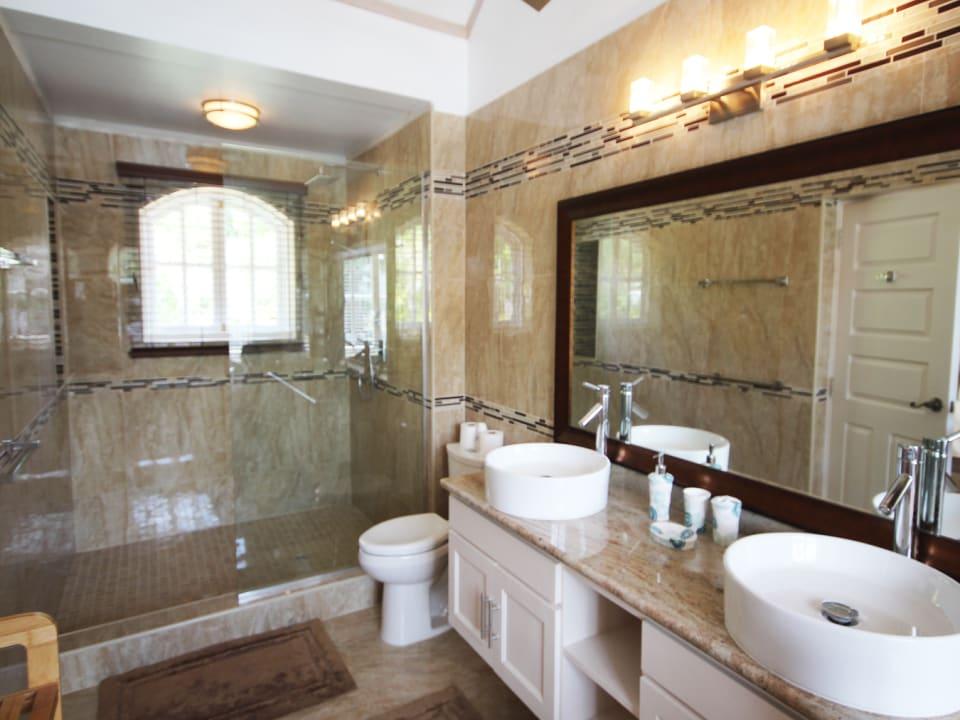 Impressive master bathroom
