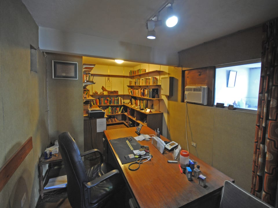 One of the office spaces