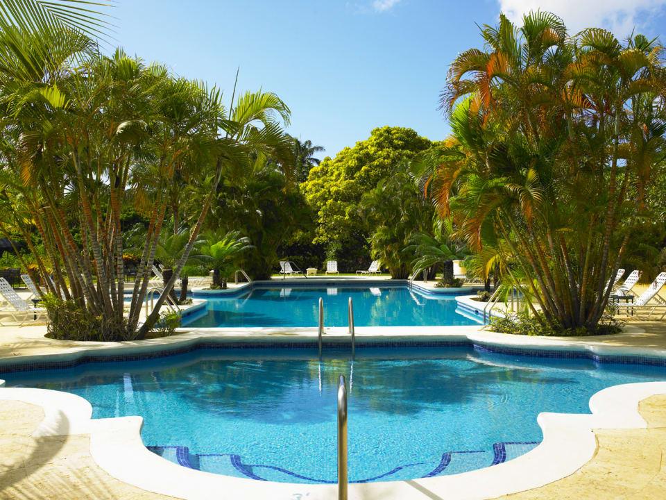 Sanctuary swimming pool at Royal Westmoreland