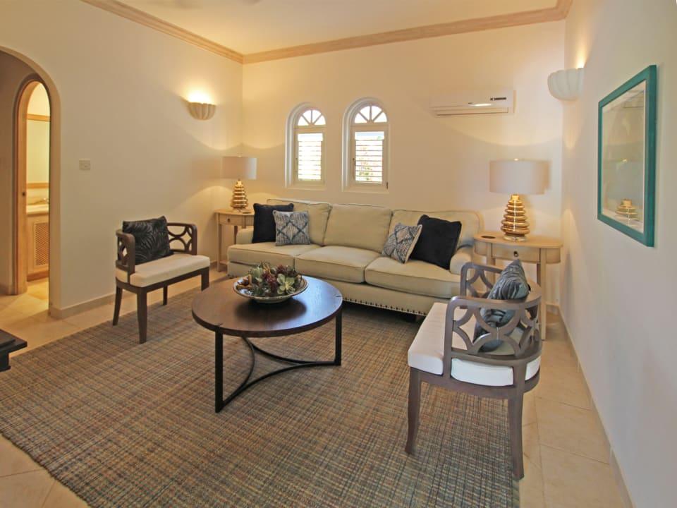 Third bedroom suite now a TV den