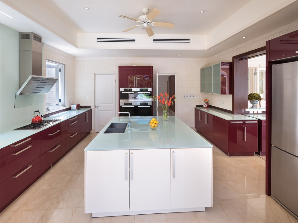 Custom-designed Miele kitchen