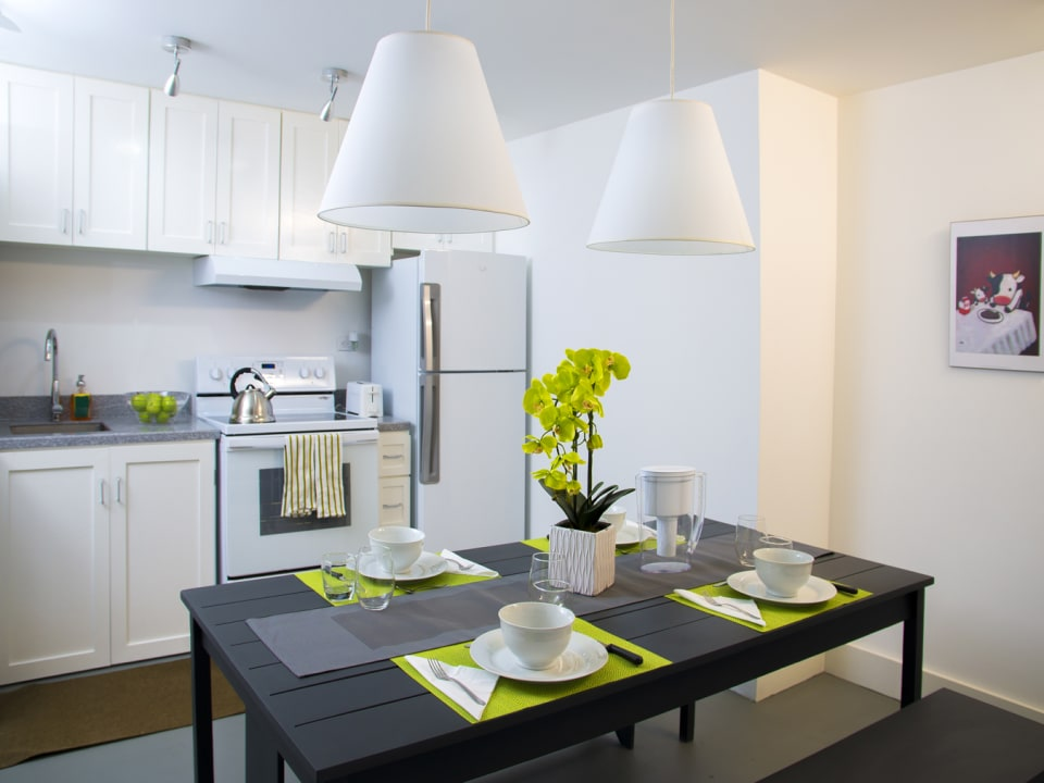 Dining room in a 2 Bedroom Suite