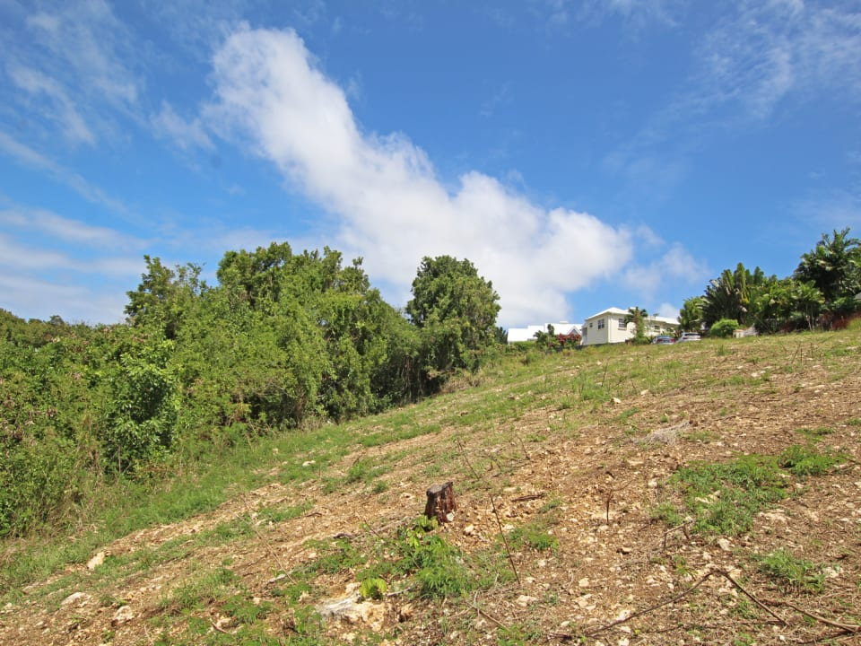 Ridge Close Lot 153. Sloping lot