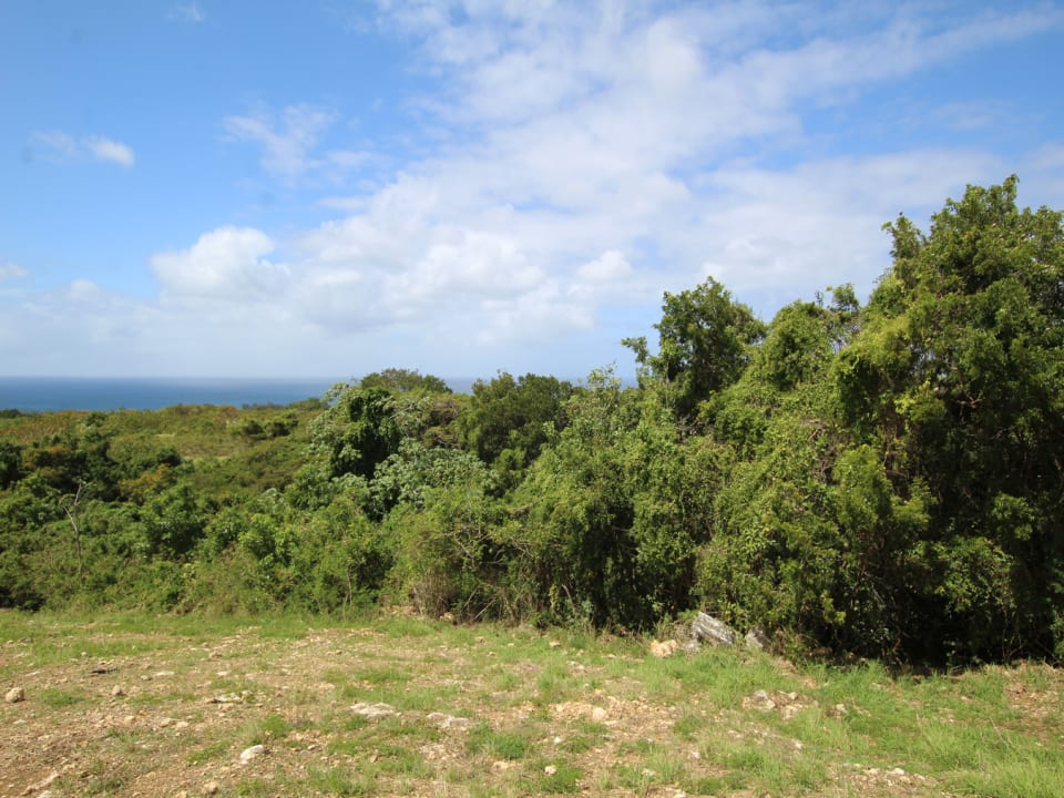 Ridge Close Lot 154. Elevated lot with lovely views of the Caribbean sea