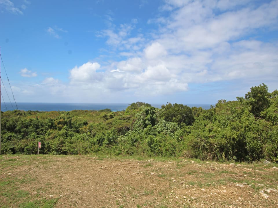 Ridge View Lot 154, Bakers. Ridge front lot with sea views.