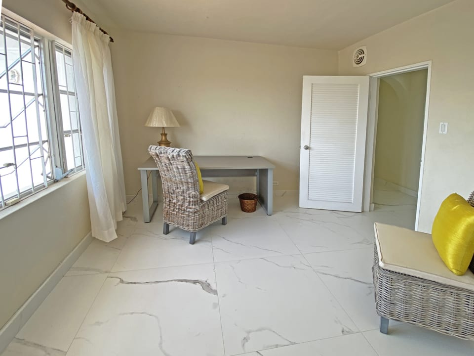 Office off of the main bedroom