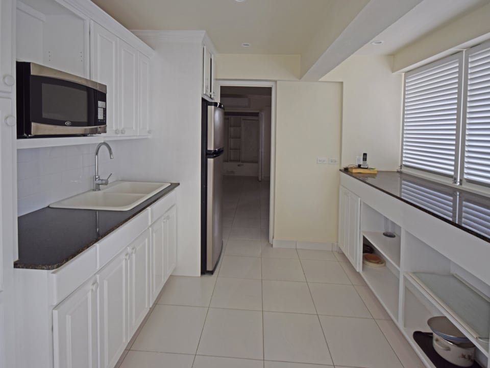 Downstairs kitchen