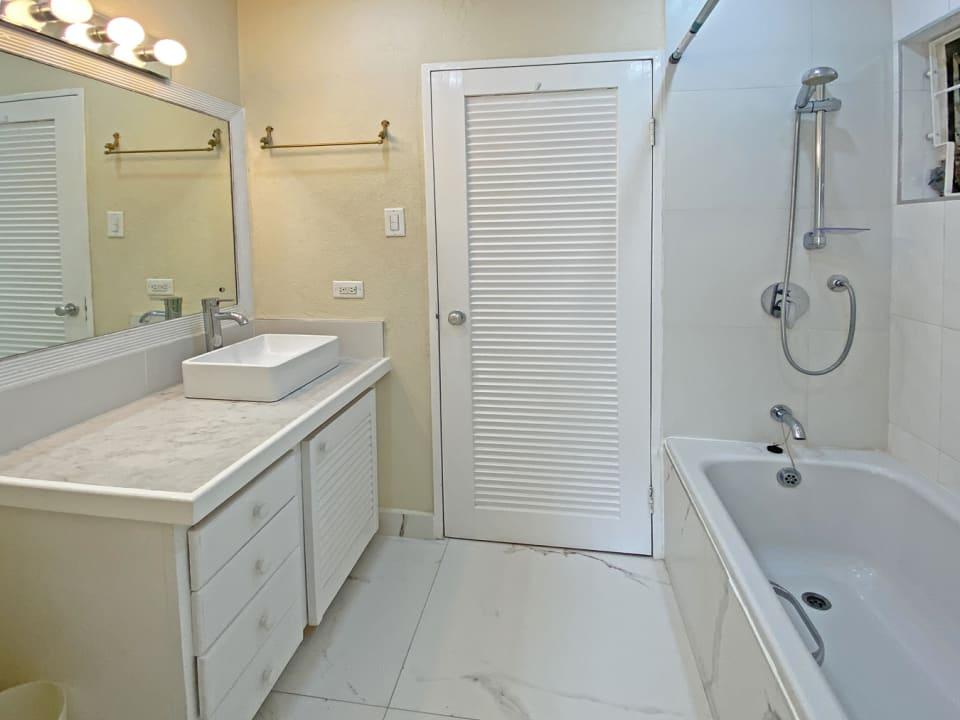 Second bathroom upstairs
